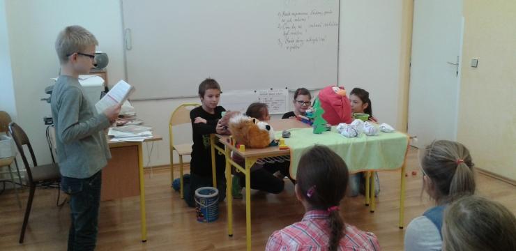 O ČERVENEJ SLIEPOČKE -dramatizácia